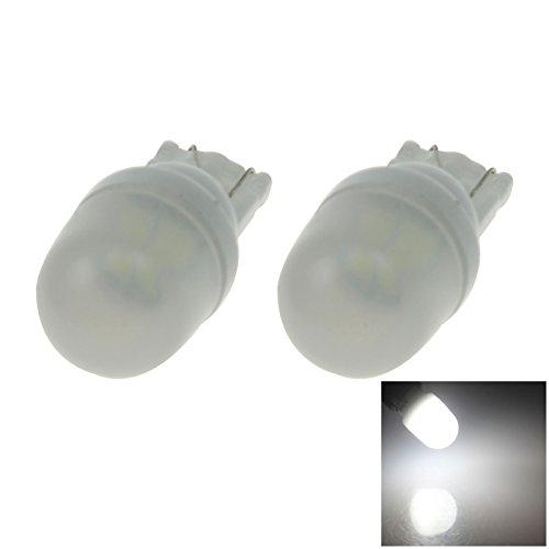 ZHANSHENZHEN White Auto Turn Signal Light Wedge Lamp Ceramic 2 Emitters 5630 SMD LED DC 12V 2921 2825 12256 Z20190 Pack of 2
