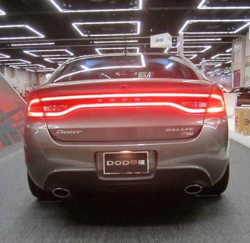 2013 Dodge Dart Race Track LED REAR tail light lamp lighting Mopar GENUINE OEM