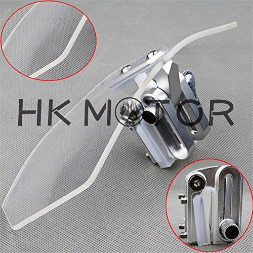 HK- Adjustable Clip On Windshield Extension Spoiler For V-Strom 650 V-Strom 1000 ABS
