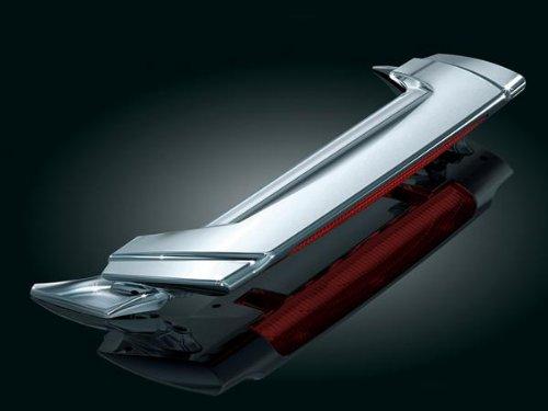 Kuryakyn 3239 Chrome Low Profile Spoiler with Run Turn Brake Light