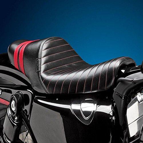 Le Pera Stubs Spoiler Seat - Red Stripe LBK-416RED
