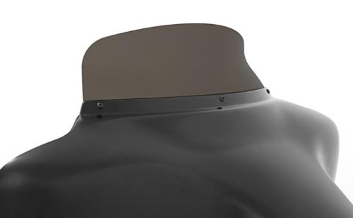 Memphis Shades MEP8591 Smoke Windshield Spoiler Replacement For Oem Fairings Shield Flh Spoiler 9