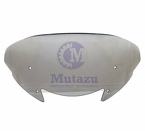 Mutazu Aero Flip Spoiler Tinted Windshield 11 Tall Fits Victory Cross Country