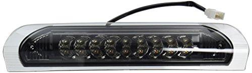 Spec-D Tuning LT-RAM02RBGLED-CY Dodge Ram 1500 Standard Crew Exteneded Smoked Lens 3Rd Third Led Brake Light