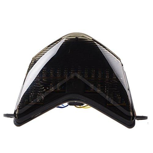 Smoke Lens 56-LED Brake Tail Light Integrated Turn Signal For Kawasaki Ninja ZX636 ZX6RR Z750S ZX10R