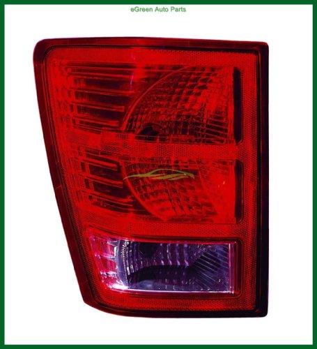 07-08 Grand Cherokee Tail Light Lamp Left Driver