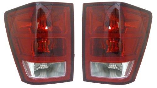 Grand Cherokee Tail Lights - Pair Set Lh Left Hand Rh Right Hand