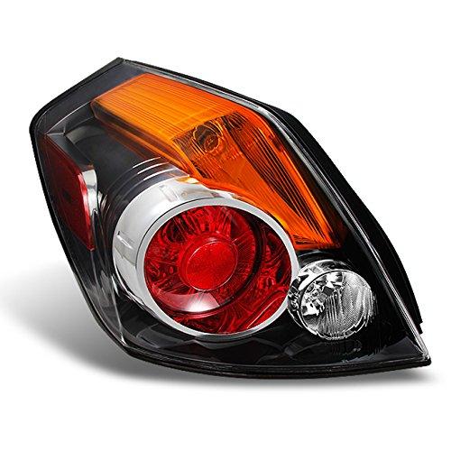 Fits 2007-2012 Altima 4-Door Sedan Chrome Tail Light Tail Lamp Brake Lamp Driver Left Side Assembly