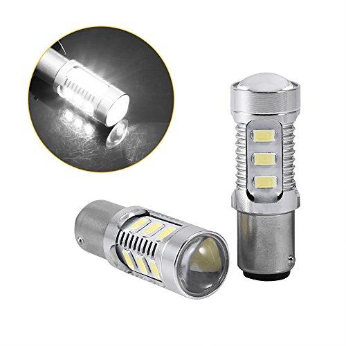 2 Pcs LED Motorcycle Brake Light Stop Lamp 1157 BAY15D