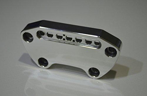JBSporty ♤ Sportster Handlebar Clamp to fit Indicator lights Harley Davidson Chrome Polished ♧