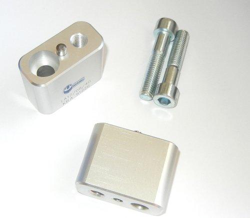 BMW R1200GS 2008-2012 Handlebar Riser kit moves bars up 40mm HOR-LAR120840
