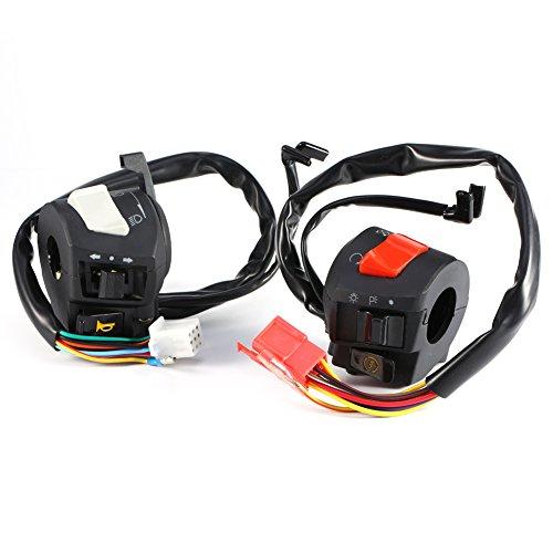 Motorcycle 78 Handlebar Horn Turn Signal Headlight Electrical Start Switch