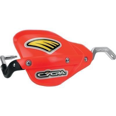 Cycra Probend Fasst Flexx Bars ATV Mount With Enduro Handguards Red