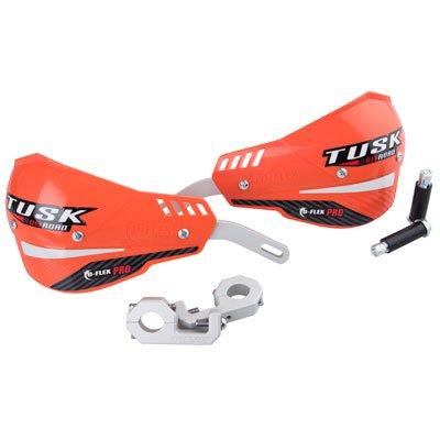 Tusk D-Flex Pro MX Handguards - ORANGE - 1-18 Bars