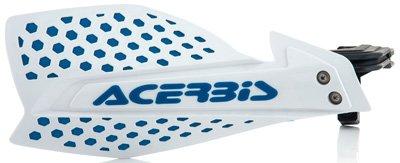 Acerbis 78 or 1 18 X-Ultimate MX Motocross ATV Handguards WhiteBlue