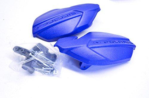 Polaris 2875709-341 Polaris ATV Handguard Kit Sonic Blue QTY 1