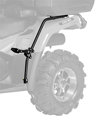 New QuadBoss ATV Fender Protector  Passenger Foot Pegs - 2007-2015 Yamaha Grizzly 700 FI