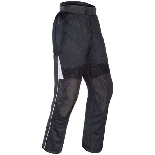 Tour Master Venture Air Mens Textile Touring Motorcycle Pants - Black  X-Small