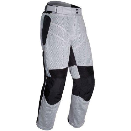 Tour Master Venture Air Mens Textile Touring Motorcycle Pants - Silver  Large
