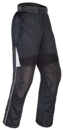 Tour Master Venture Air Womens Textile Cruiser Motorcycle Pants - Black  Large