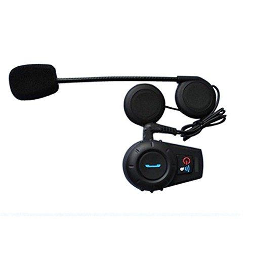 BININBOX 500M BT Interphone Bluetooth Motorbike Motorcycle Helmet Intercom Headset 12V