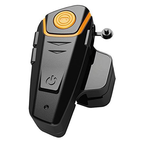 Bluetooth Motorcycle Headset Helmet Intercom Communication Headphone Universal Wireless Interphone To 2 or 3 RidersSingle
