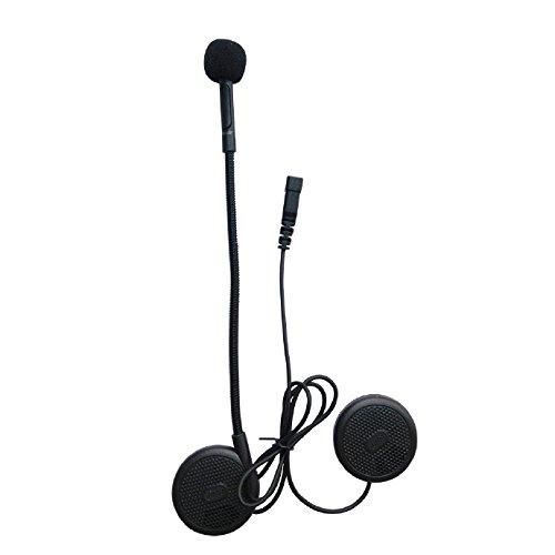 FreedConn L1 Motorcycle Helmet Wireless Bluetooth Headset Helmet Communication Systems for Motorcycle Motorbike Helmet Earphone Microphone MP3 Dedicated Helmet Headphones