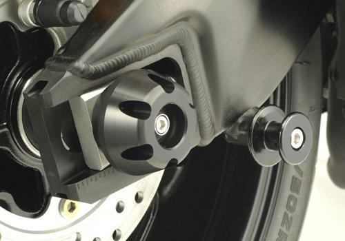 AGRAS rear axle protector protector size 60 Black CBR1000RR 08-12 345-172-000