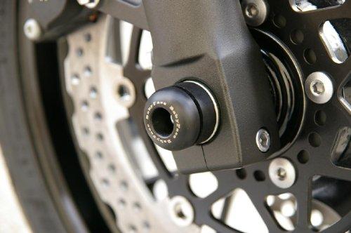 Baby Face DURACON black ZRX1200 DAEG for axle protector Front Daegu 09-12 006-A0026BK