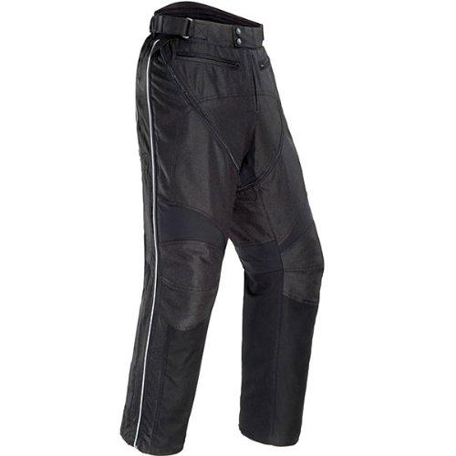 Tour Master Flex Women's Textile Touring Motorcycle Pants - Black / Medium