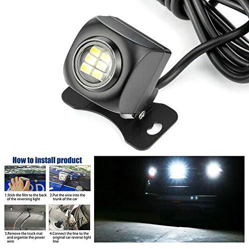 Lovelychica 6 LED high Brightness Backup Reverse Lamp Rear Turn Signal Bulbs Reverse Light Led Bulbs Backup Led Automotive Back Up Light