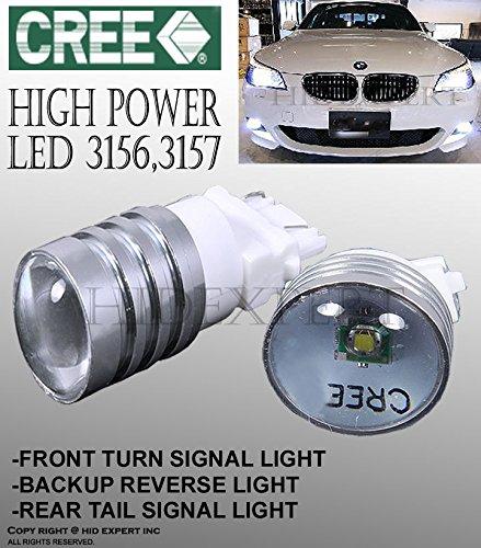 Tutti Racing 3156 3056 3157 3356 3456 3057 3457 4157 White 75W LED REAR TURN SIGNAL Bulb