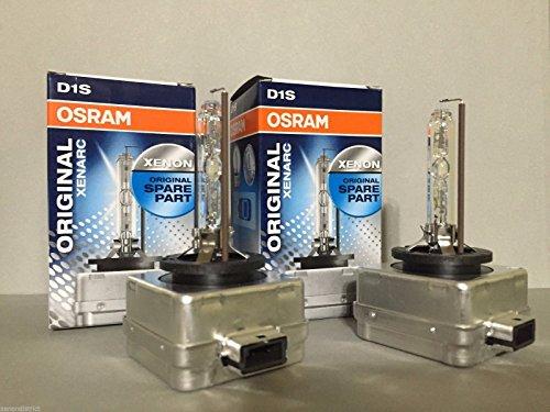 2pcs New Osram D1S 66144 4300K Genuine Xenon HID Light Bulbs