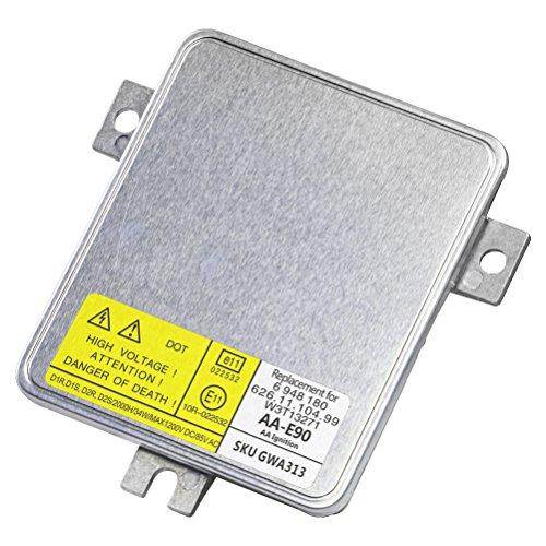 HID Xenon Headlight Ballast - Control Unit Module - Replaces 63126948180 W3T13271 6261110499 - Fits BMW 323i 325i 325xi 328i 328xi 330i 330xi 335i Volvo S80 V70 XC70 - Years 2004-2016