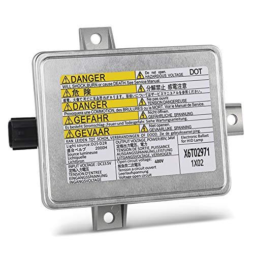 HID Xenon Headlight Ballast Fits for Acura TL TSX Honda S2000 Mazda 3Replaces 33119-S0K-A10 33109-S0K-A02 W3T10471 W3T14371 HID Ballast Headlight Control Unit Module