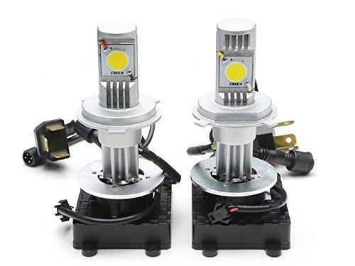 FEIFEIER LED Headlight Conversion Kit 50W 3600LM Cree LED Replaces Halogen HID Bulbs H4 HB2 9003 Dual beam LED