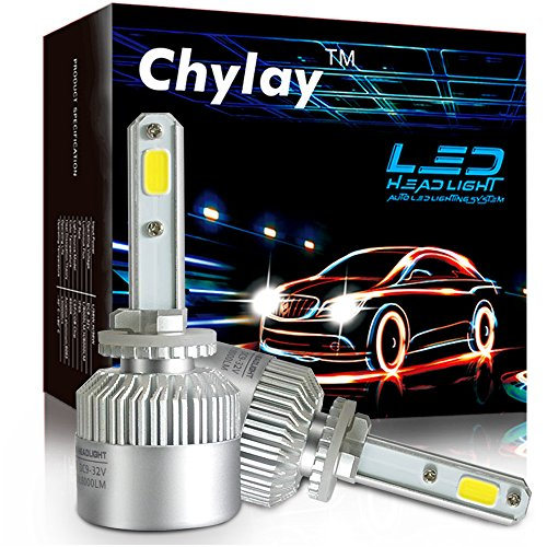 Chylay 881 880 LED Headlight Bulb COB LED Car Headlight Lamp 72W 8000LM White 6500K Auto Headlamp 12V 881