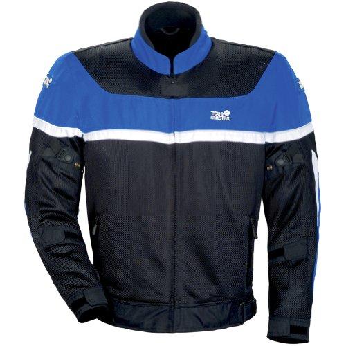 Tourmaster Draft Air Series 2 Mens BlueBlack MeshTextile Jacket - Small
