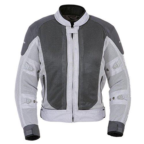 Tourmaster Flex Series 3 Womens SilverGunmetal MeshTextile Jacket - Medium