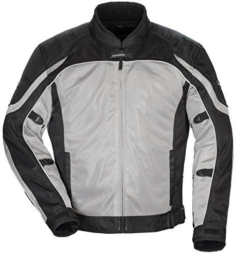 TourMaster Intake Air 40 Mesh Jacket For Women XL Silver