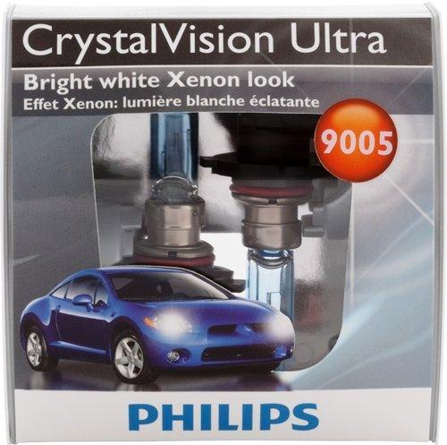 Philips 9005 CrystalVision ultra Upgrade Headlight Bulb Pack of 2