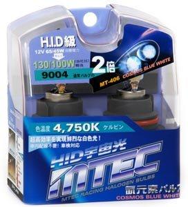 MTEC Cosmos Blue 9004 Headlight Bulbs