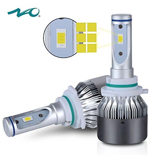 9006HB4 LED Headlight BulbNAO Car LED Headlights Conversion Kit Upgrade Head Light Bulb Replacement 72W 7600LM 6K- 2 Yr Warranty