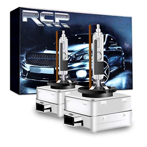 RCP - D1R4 - A Pair D1R 4300K Xenon HID Replacement Bulb Factory White Warm White Metal Stents Base 12V Car Headlight Lamps Head Lights 35W