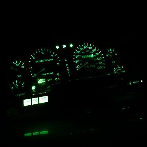 HERCOO LED Bulbs Kit Instrument Speedometer Gauge Lights for 1994-1997 Ram 1500 2500 3500