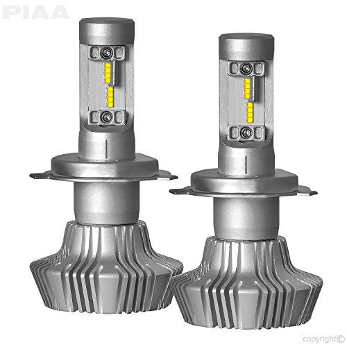 PIAA 26-17304 White H4 Platinum LED Bulb Kit 4000 lm 25W - 2 Yr Warranty 6000K 9003  HB2