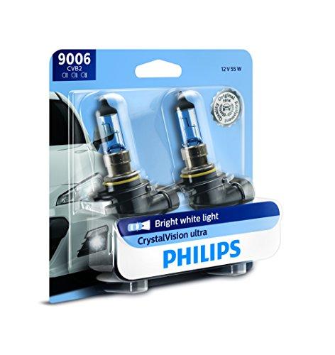 Philips 9006 CrystalVision Ultra Upgrade Bright White Headlight Bulb 2 Pack