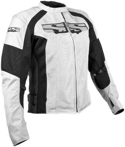 Speed and Strength womens WhiteBlack Radar Love Mesh Jacket - Small
