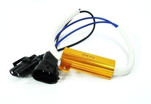 LEDIN H11 H8 LED Low Beam Headlight Xenon HID No Error Load Resistor Wiring Harness Socket