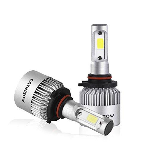ACUMSTE 9005H10HB3 LED Headlight Bulbs COB Chips HighLow Beam 100W 8000LM 6000K Cool White 9005H10HB3 LED Headlight Bulbs Conversion Kit